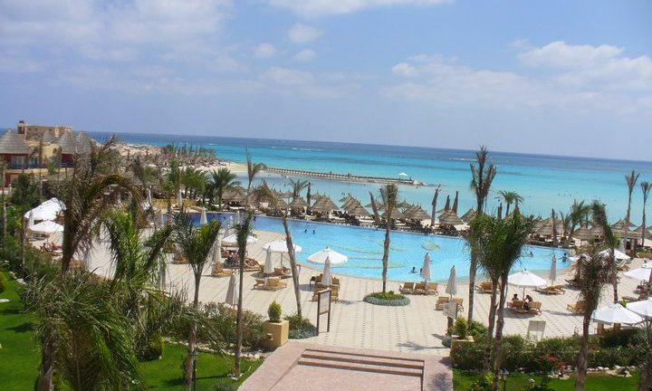 Beach holiday resort