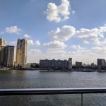 View of the River Nile from a Cairo restaurant