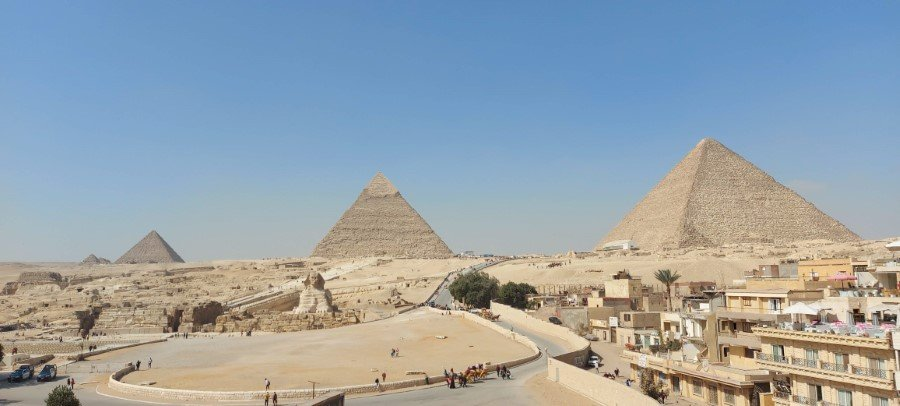 Great Pyramids of Giza and the Great Sphinx