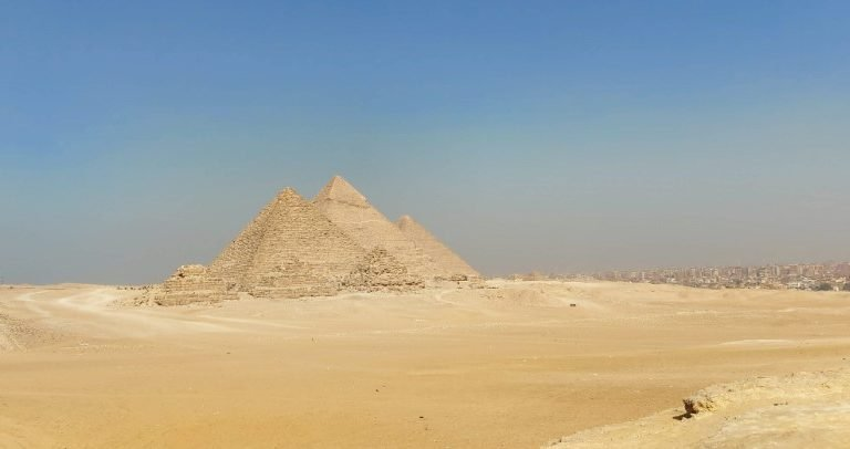 Family Trip to the Pyramids of Giza