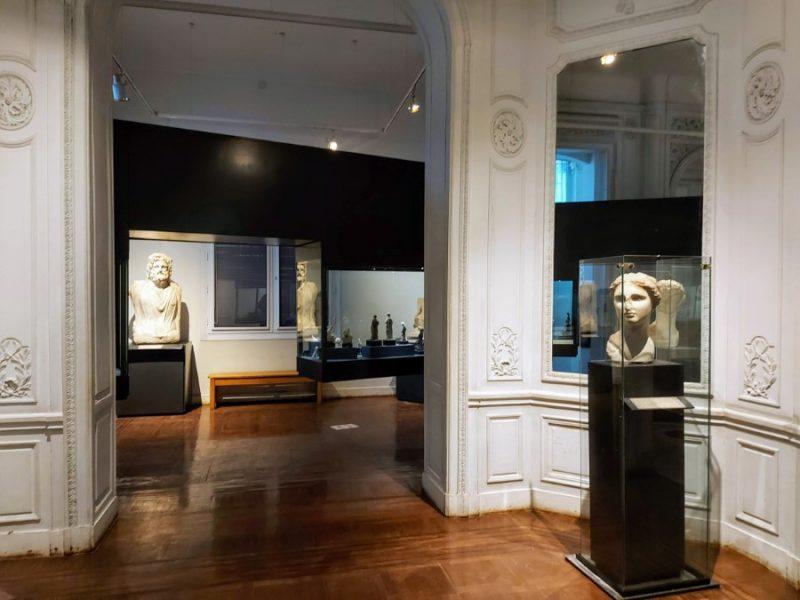 Graeco-Roman artefacts at the Alexandria National Museum