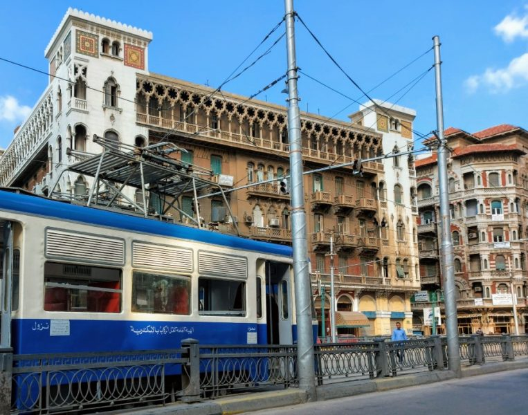Tram in Alexandria