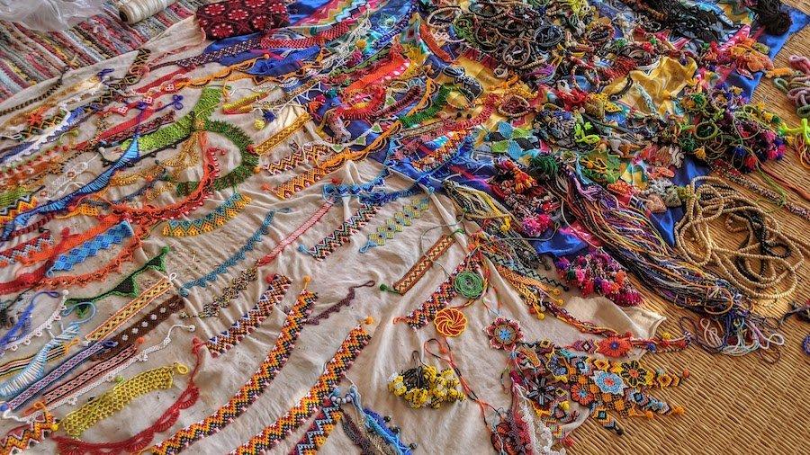 Handmade accessories in Nuweiba