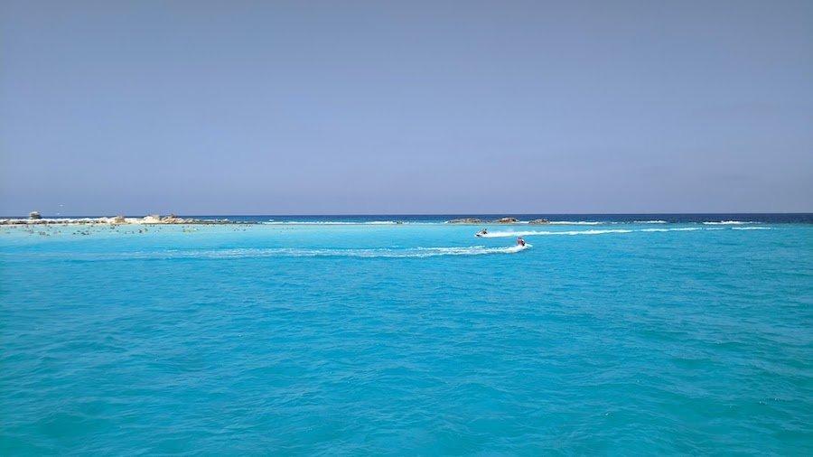 Jet skis in the sea at Marsa Matrouh